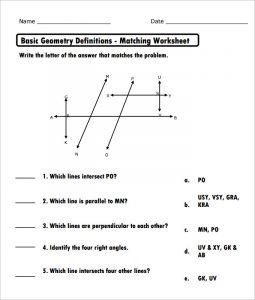 high school geometry worksheets high school basic geometry worksheet template