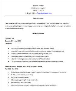 high school resume samples high school resume template word