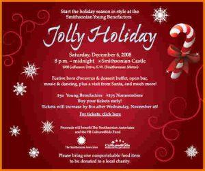 holiday flyer template holiday invitation templates jolly invite