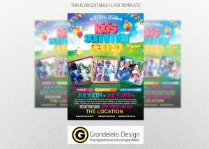 holiday flyer template kids summer camp flyer templete psd by grandelelo dxfln