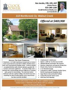 home for sale flyer northcreek cir property flyer