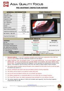 home inspection report template sample preshipment inspection report