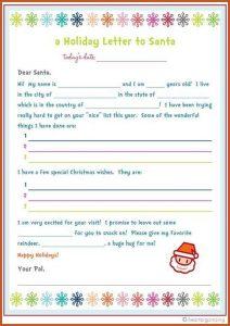 home offer letter template letter to santa template freebie letter to santa kids party craft idea