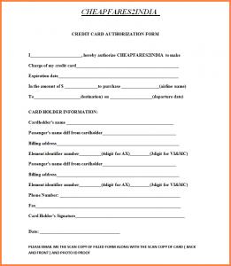 home sales contract cc authorization form cc form
