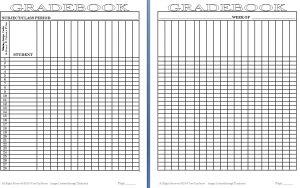 homeschool grade book teachers master binder gradebook