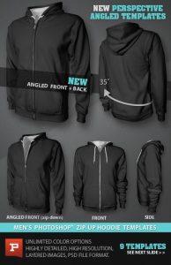 hoodie template psd mens blank zip up hoodie mockup template psd files