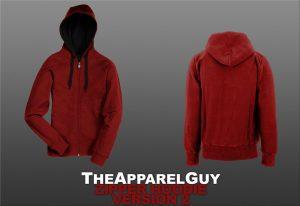 hoodie template psd womend zipper hoodie psd