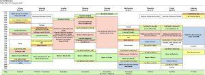 hourly calendar template excel travel itinerary template printable online calendar template