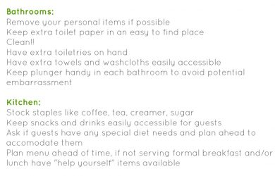 house cleaning checklist template house guest checklist