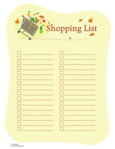 house cleaning checklist template shoppinglist