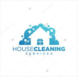 house cleaning logo house cleaning logo