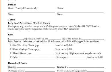 house rental agreement house rental agreement template property house rental agreement template free