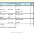 household budget template printable restaurant schedule template general cleaning p full