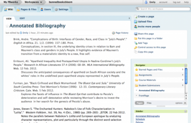 how to create an annotated bibliography annotated biblio frame