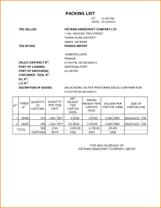 how to make a profit and loss statement sample packing list