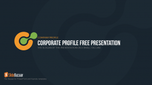 how to make an agenda company profile free powerpoint template
