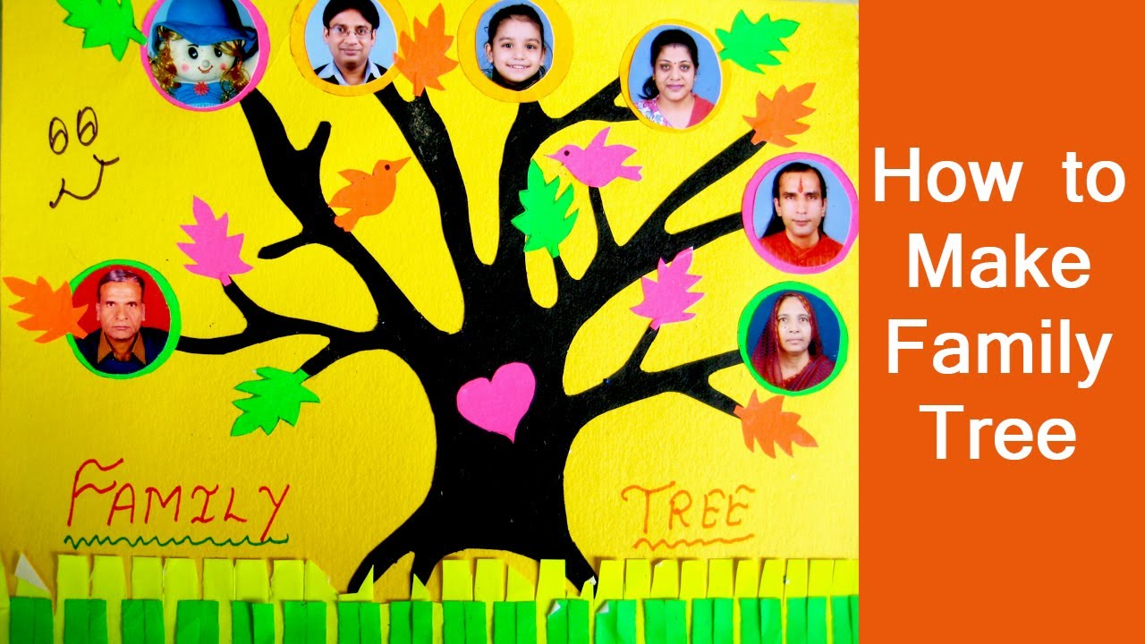 how to make family tree
