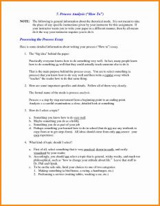 how to write a informative essay process analysis sample essay example of process essay format process essay college essay process template essay