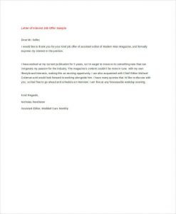 how to write a letter of interest for a job letter of interest for job sample