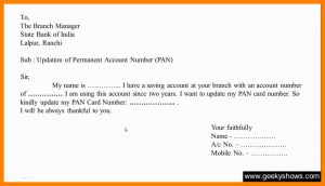 how to write a letter of introduction for a job how to write application to bank manager