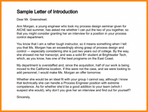 how to write a letter of introduction for a job self introduction letter for job sample letter of introduction resizec