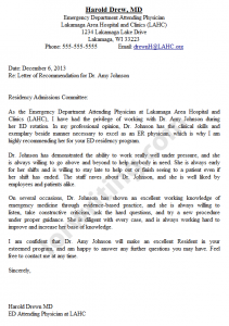 how to write a recommendation letter letter of recommendation example