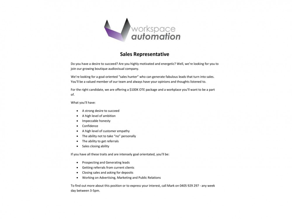 how to write an application