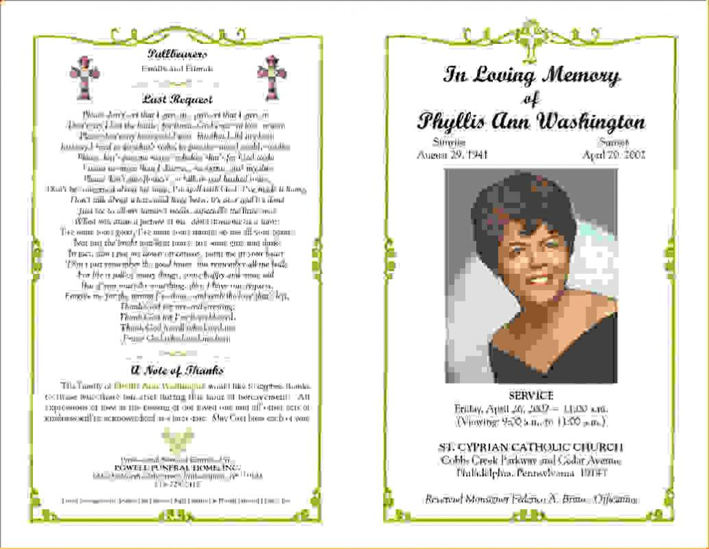 how to write an obituary for mother