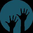 hr resume sample volunteer icon