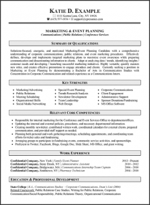 human resources resumes samples marketing communications resume example