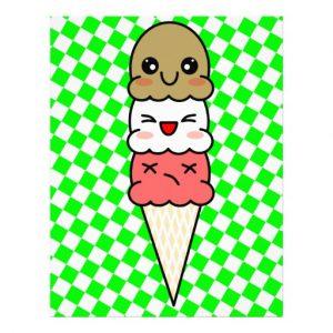 ice cream templates kawaii ice cream customized letterhead rabdbadbaaad vgg byvr