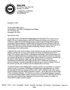 immigration letter of support omb letter