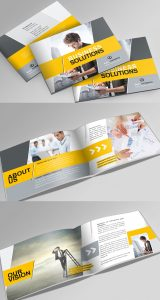 indesign brochure templates free preview booklet