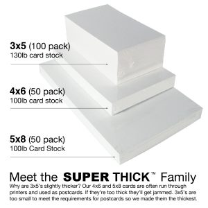 index cards sizes meet the super thick family