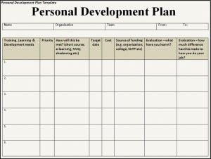 individual development plan personal development plan