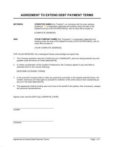 installment payment agreement