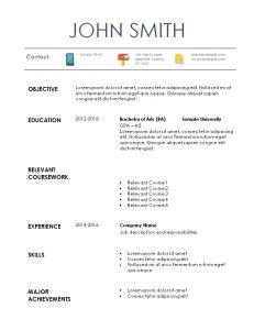 internship resume template internship resume example