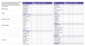 inventory checklist template em