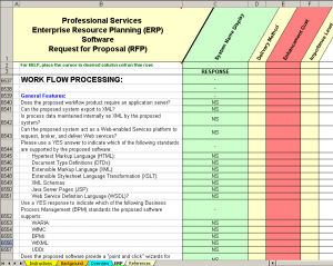 inventory checklist template professional services erp workflow