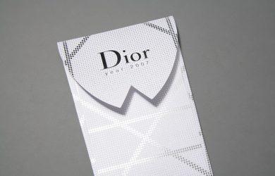 invitation card template dior invitation
