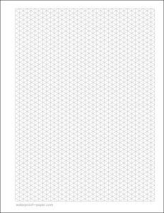 isometric graph paper pdf isometric graph paper template