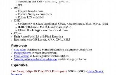 java developer resume java developer resume