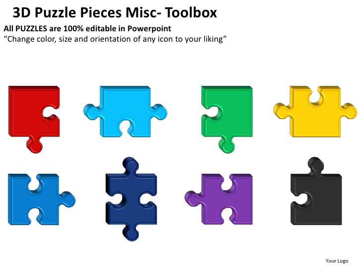 Jig Saw Puzzle Template | Template Business