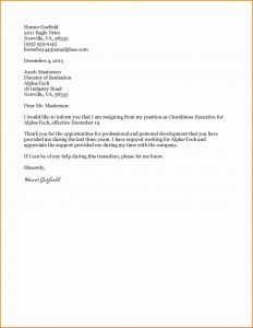 job acceptance letter from employer formal resignation letter sample ideas formal resignation letter example short resume from resigning job white template wording