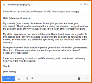 job application follow up email sample follow up email to schedule an interview email sample
