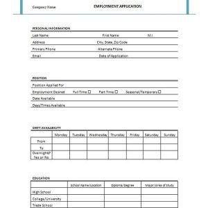 job application form template template job application form ryfnqqtn