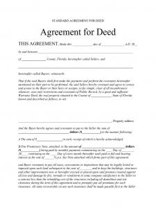 job application template word standard agreement for deed florida d
