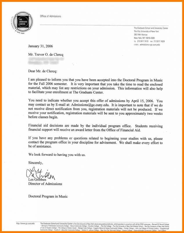 job offer letters
