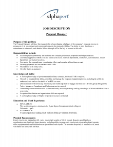 job proposal template job proposal template qacx