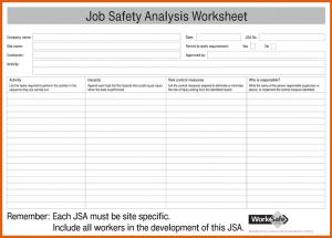 job safety analysis examples job safety analysis form job safety analysis jsa form for pdf